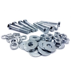 Zinc and Stainless Steel Bolt Kits