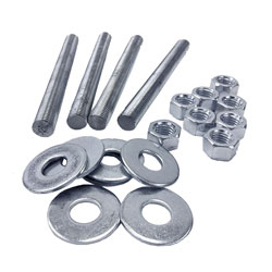 Zinc and Stainless Steel Stud Packs