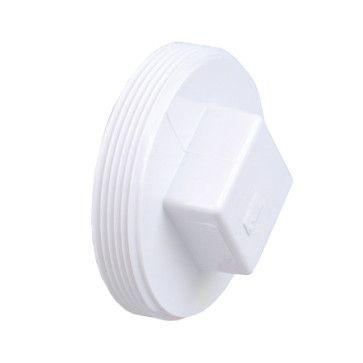 8 Quot Dwv Pvc Cleanout Plug Raised Nut D106 080