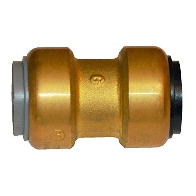 Quot lead free brass push fit polybutylene adapter
