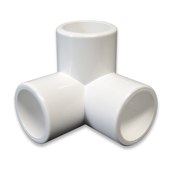 Quot way pvc furniture fitting side elbow
