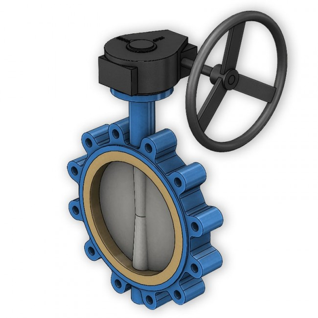 Ductile Iron Gear Operated Valves