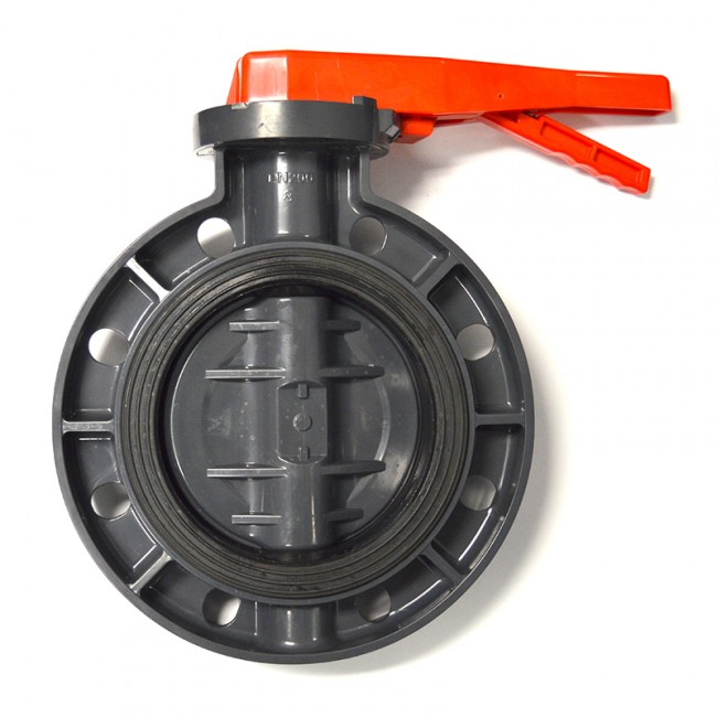 Lever Butterfly Valve : Buy quot pvc butterfly valve lever handle best prices online