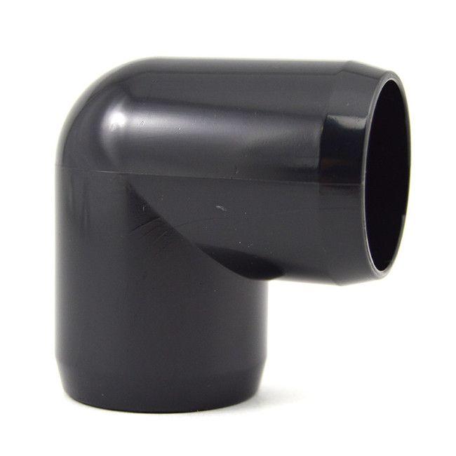 Quot black pvc degree furniture elbow online now