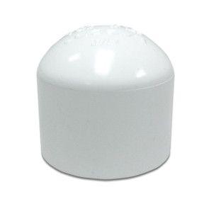 """2-1/2"""" Sch 40 PVC Cap Soc 447-025"""