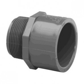 "3/4"" Schedule 80 PVC (MPT x S) Male 836-007"