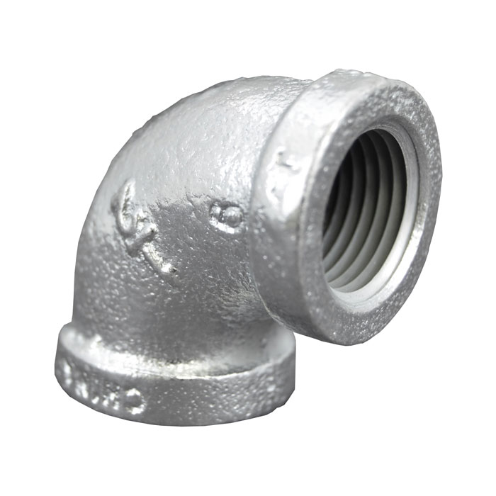 Galvanized Malleable Iron Elbow