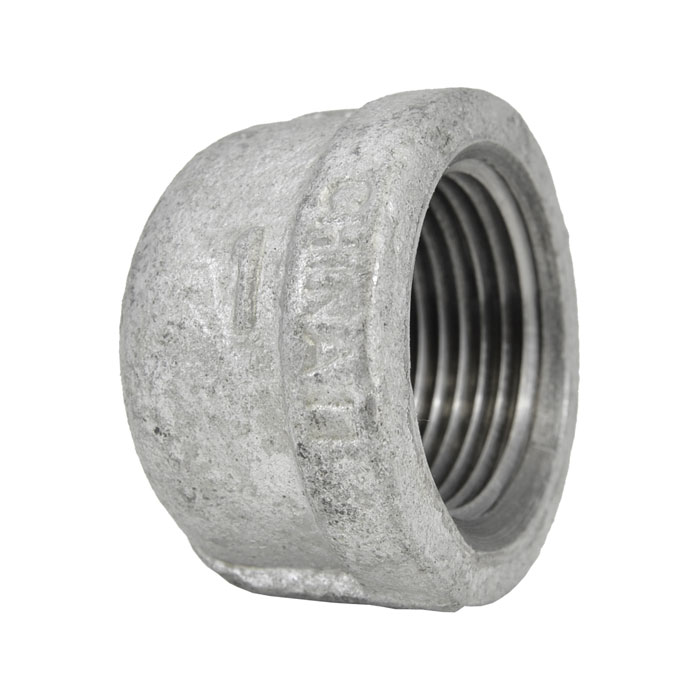 Galvanized Malleable Iron Cap