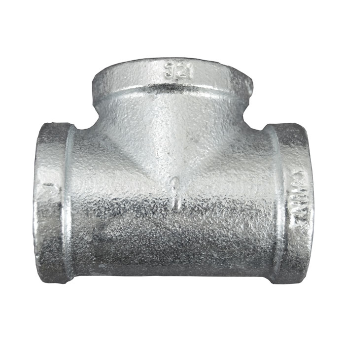 Galvanized Malleable Iron Tee