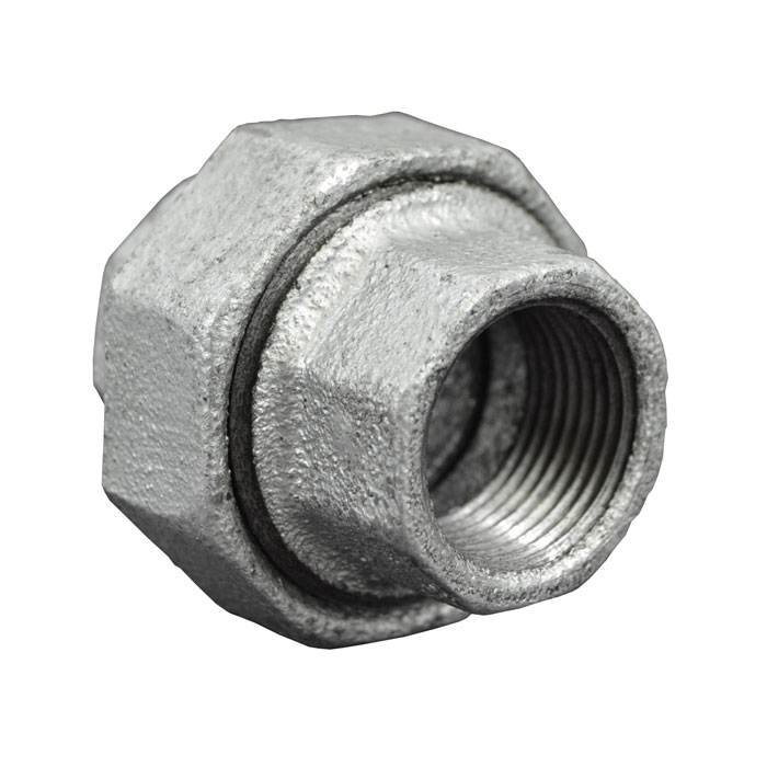 Galvanized Malleable Iron Union