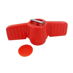 replacement handle for pvc ball valve with screw