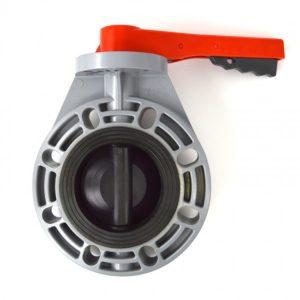 CPVC butterfly valve lug style