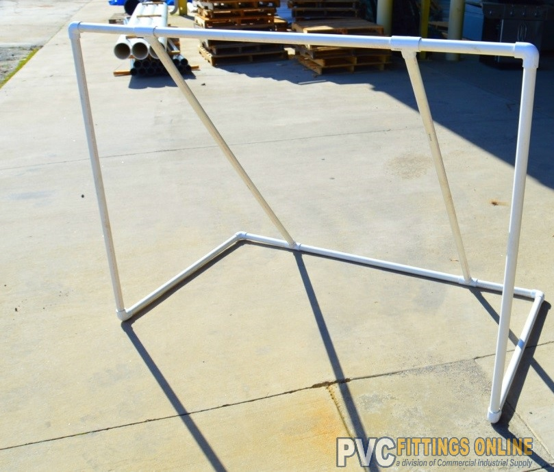 How to Build a Kids Soccer Goal - DIY PVC Project Guide