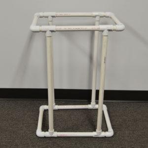 DIY PVC clothes basket